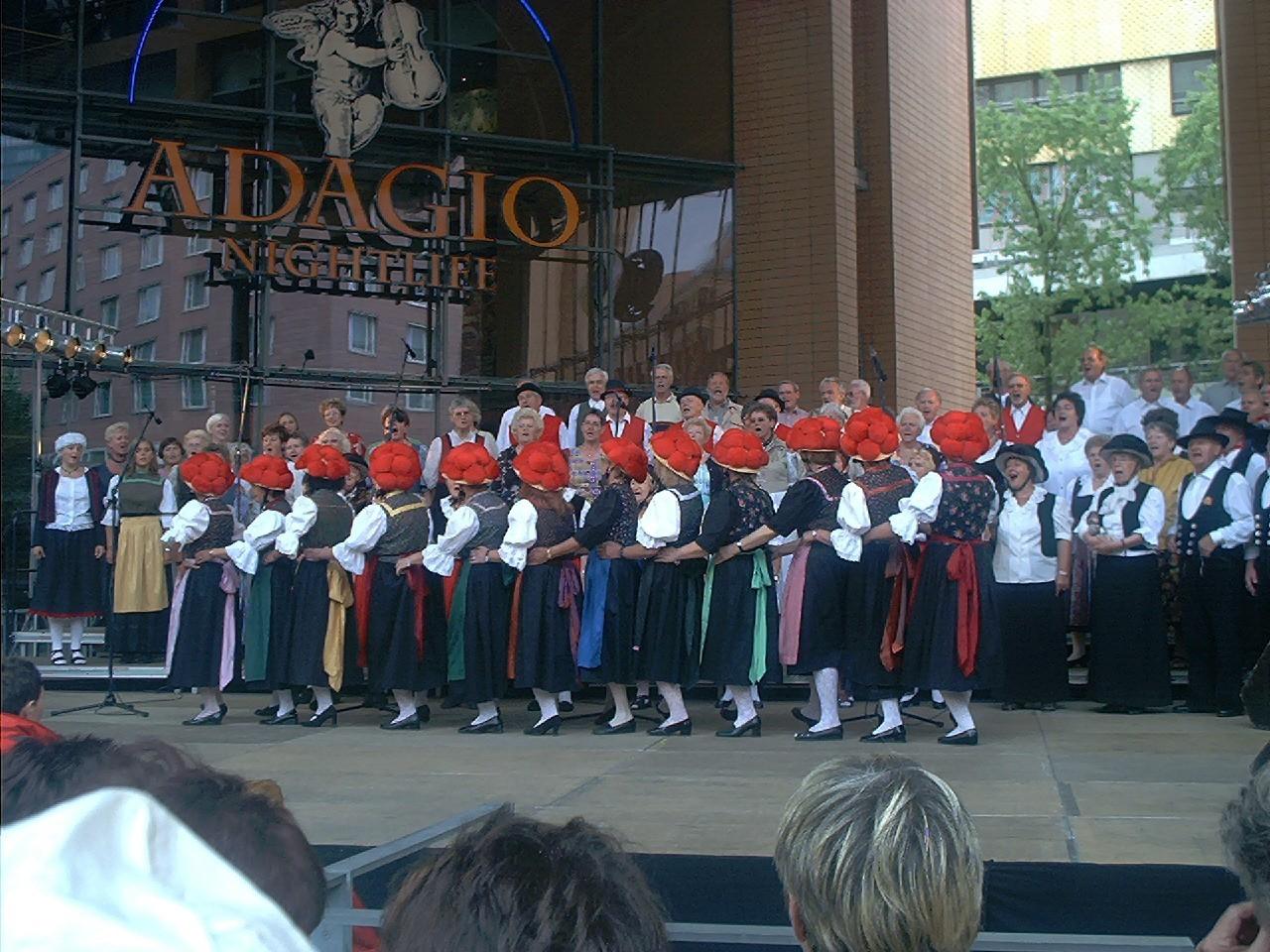 Deutsches Chorfest Berlin 06.2003 - W. Dippon mit LK Enzweihingen und MPC Chorverband Enz