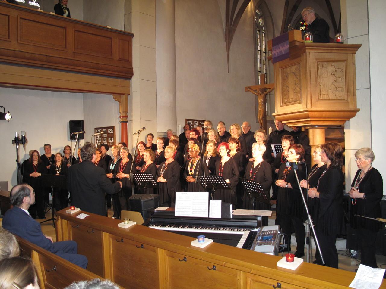 "RockPop2001 ""Gospelkonzert - Body & Soul - 28.03.2010 Martinskirche Enzweihingen"