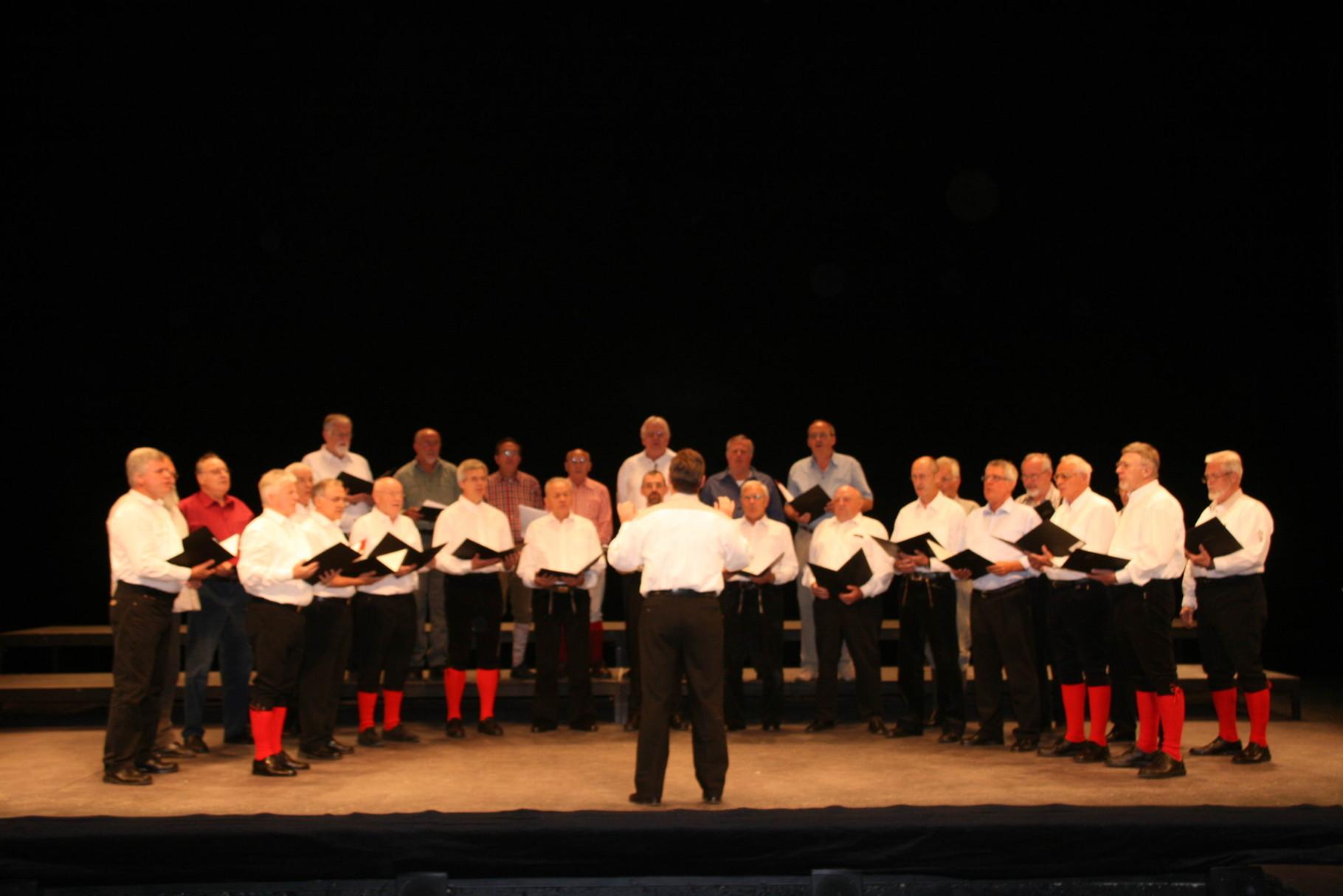 MännerProjektChor  MPC - Universität Johannesburg Südafrika - Theatersaal - 2007