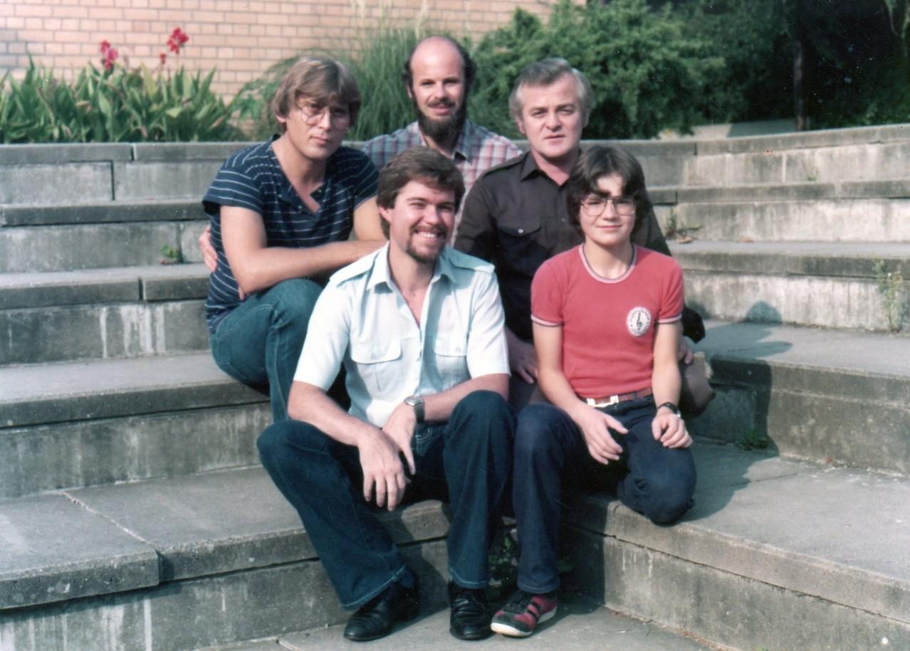 """Bildaufnahmen u.a. für LP-Cover """"Weihnachten mit dem Illinger Jugendchor""""1982"""