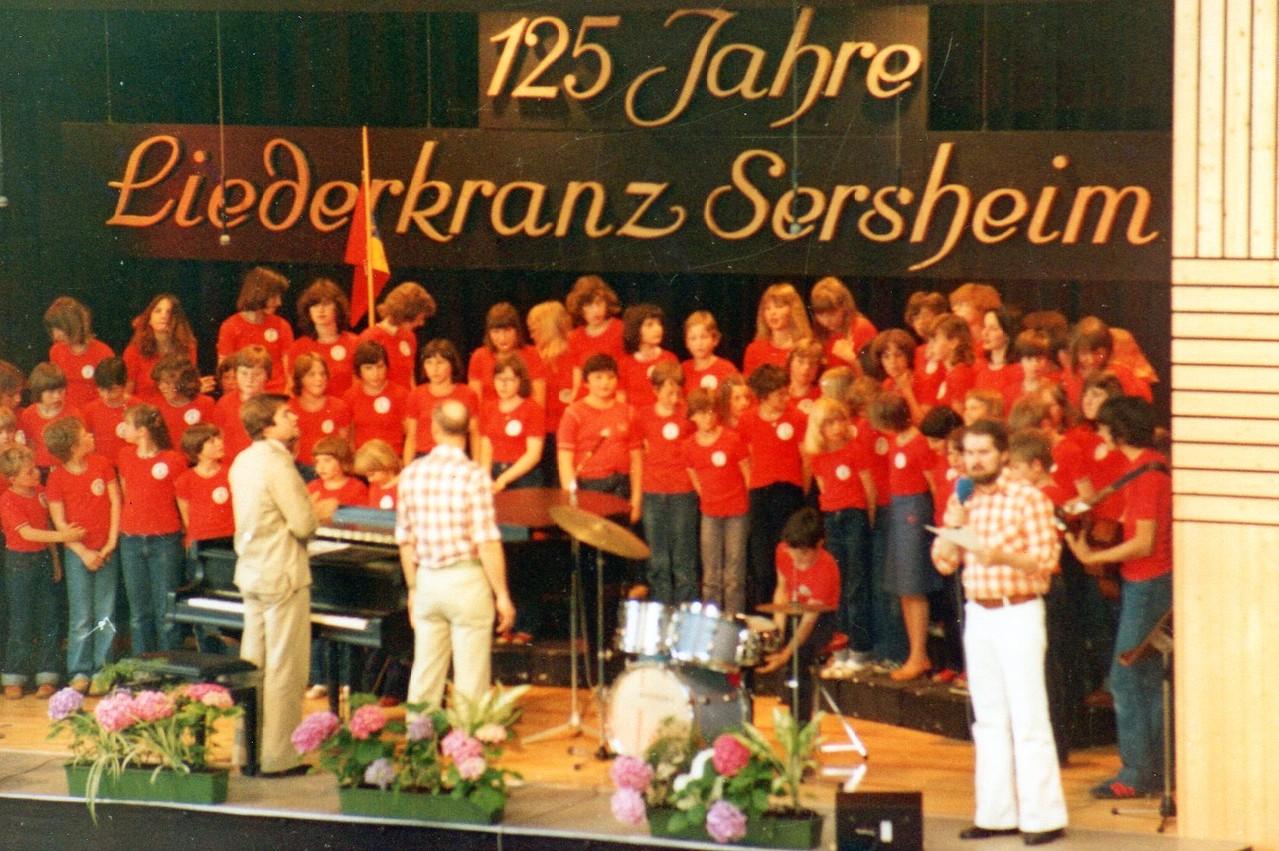 Enzgau Jugendchortreffen in Sersheim 19..