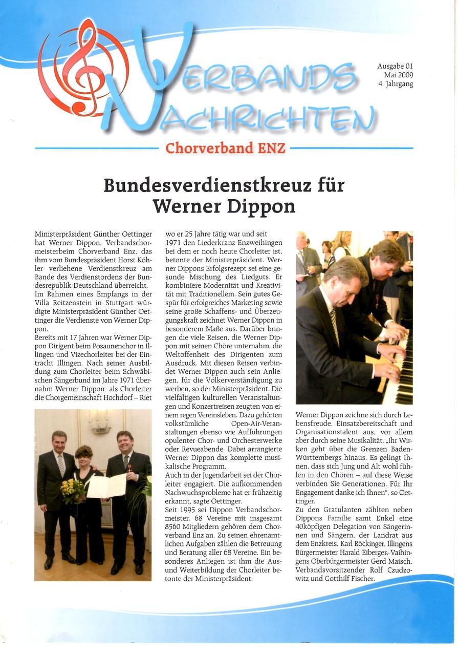 """Bundesverdienstkreuz """"Villa Reitzenstein"""""""