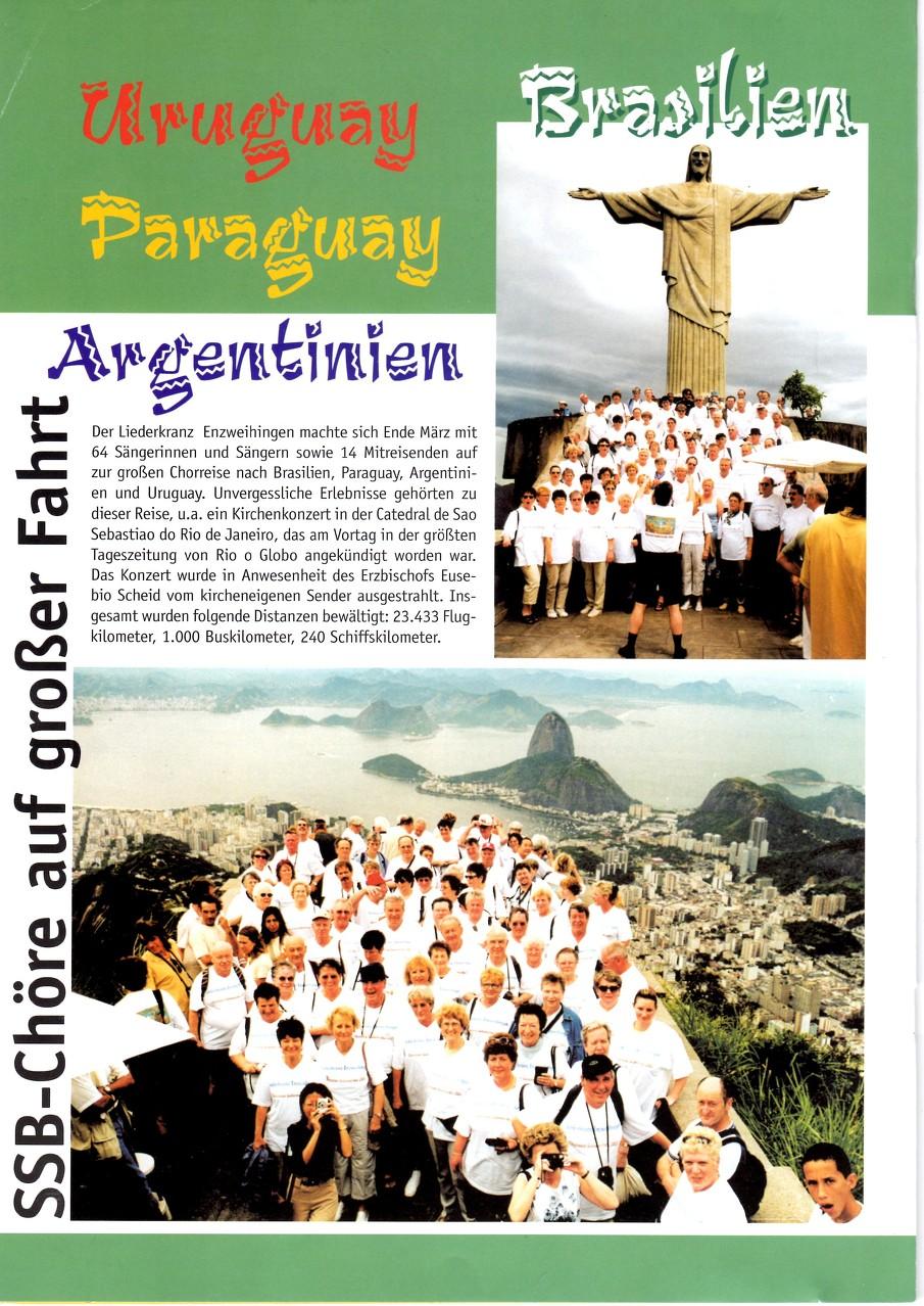 LKE auf Südamerika-Tournee