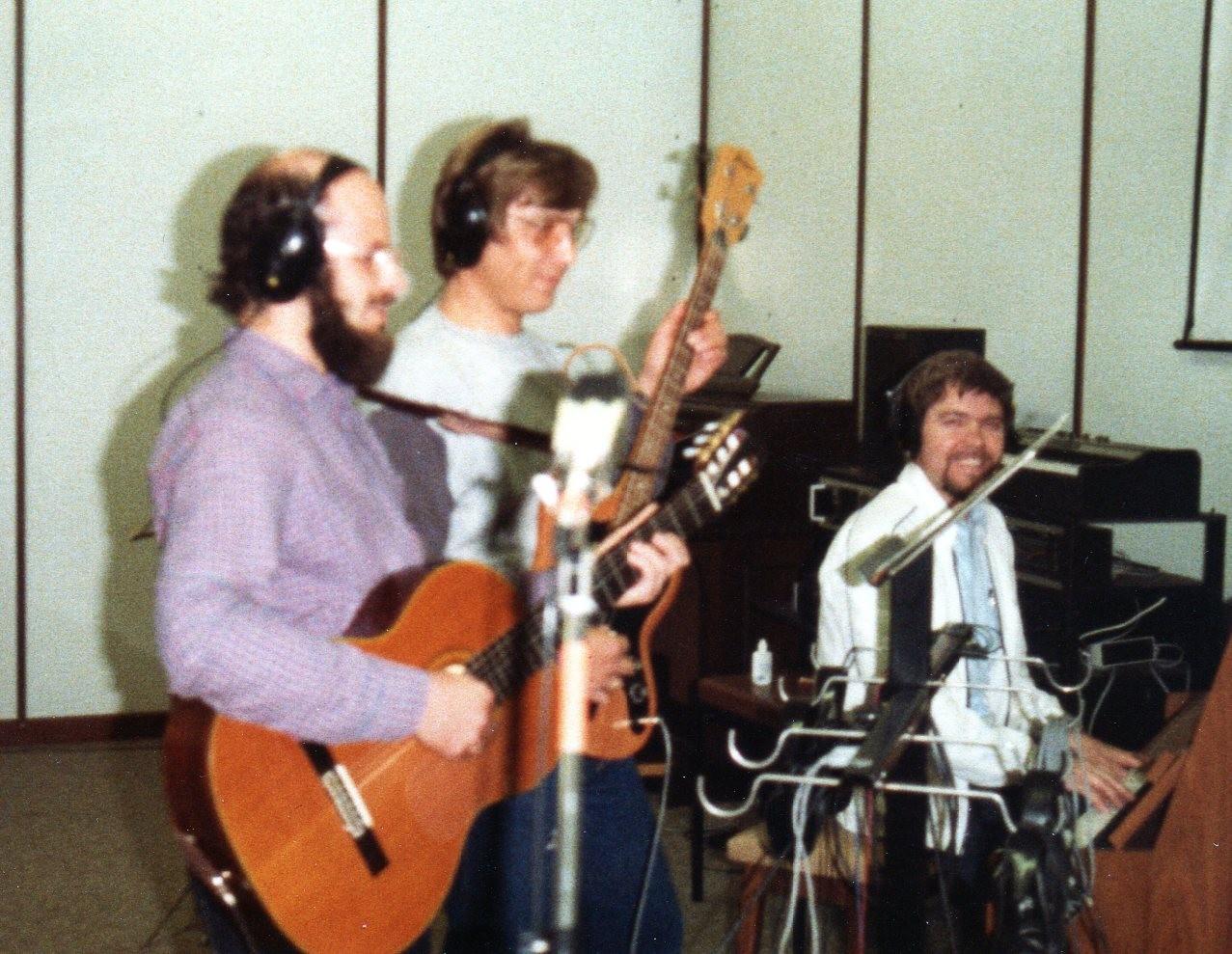 Collies im Studio - Tonaufnahmen -