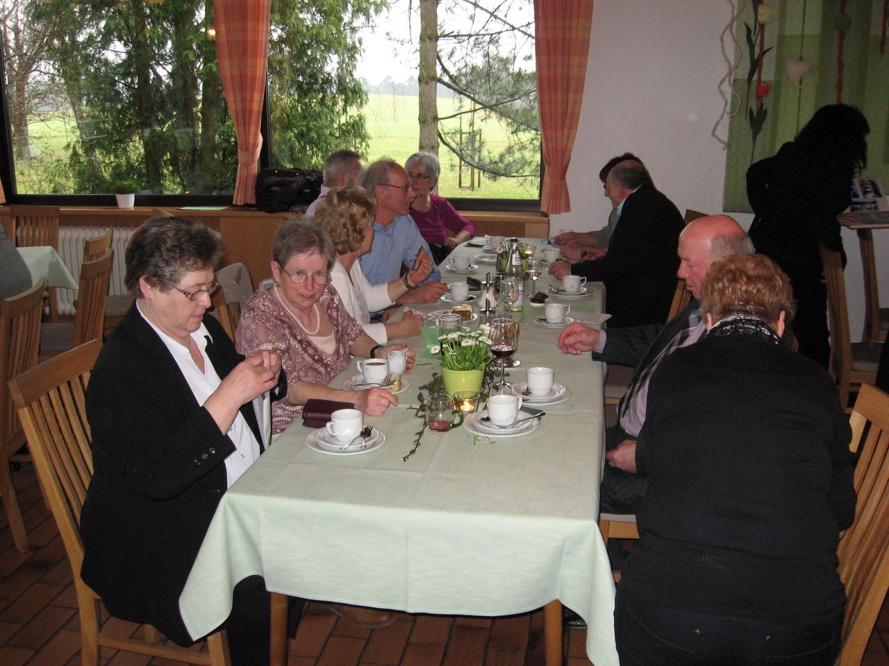 Feier im Gasthaus Burrainhof bei Diefenbach