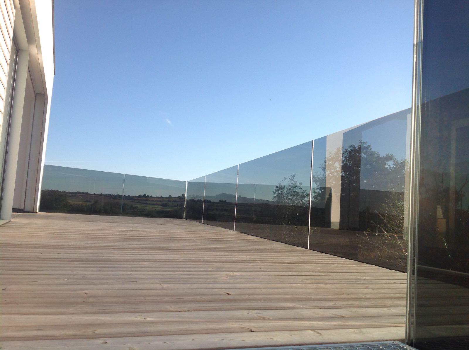 Balkongelander Glasgelander Stiegengelander Screenroom