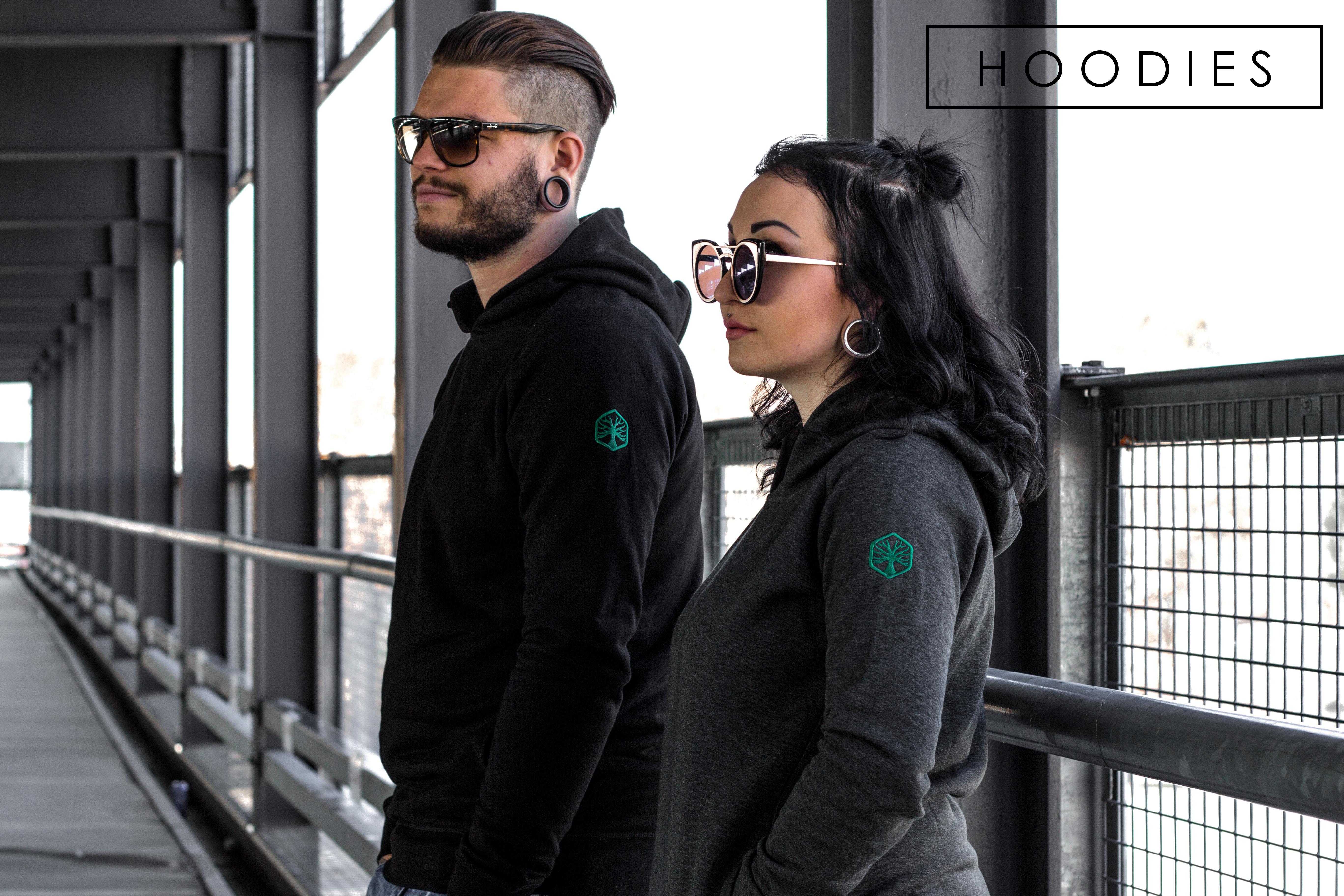 Faire Hoodies aus Bio Baumwolle