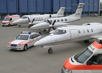 Flugzeuge des DRK Flugdienst  (Foto: Drk Flugdienst GmbH)