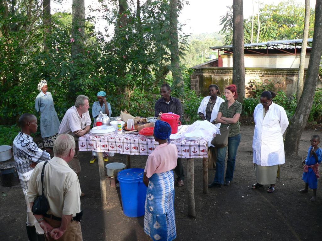Besuch des Regionalbeauftragten der Welthungerhilfe