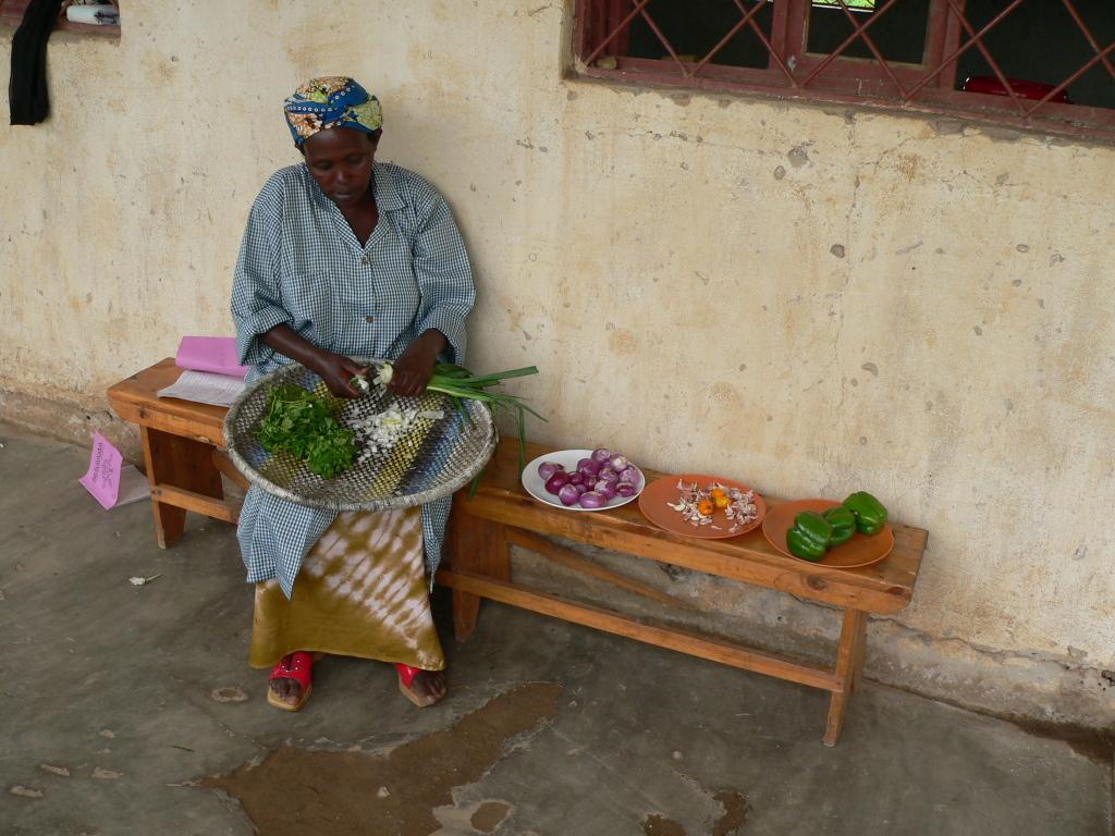 Herstellung von Sojapflanzerln