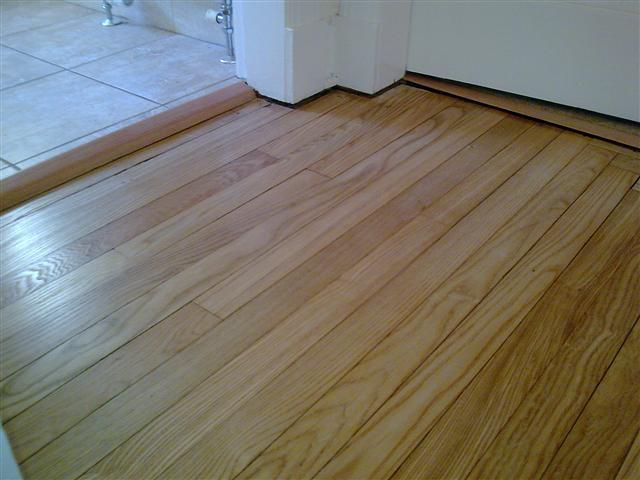 A domestic oak floor finished with Junckers ProFinish