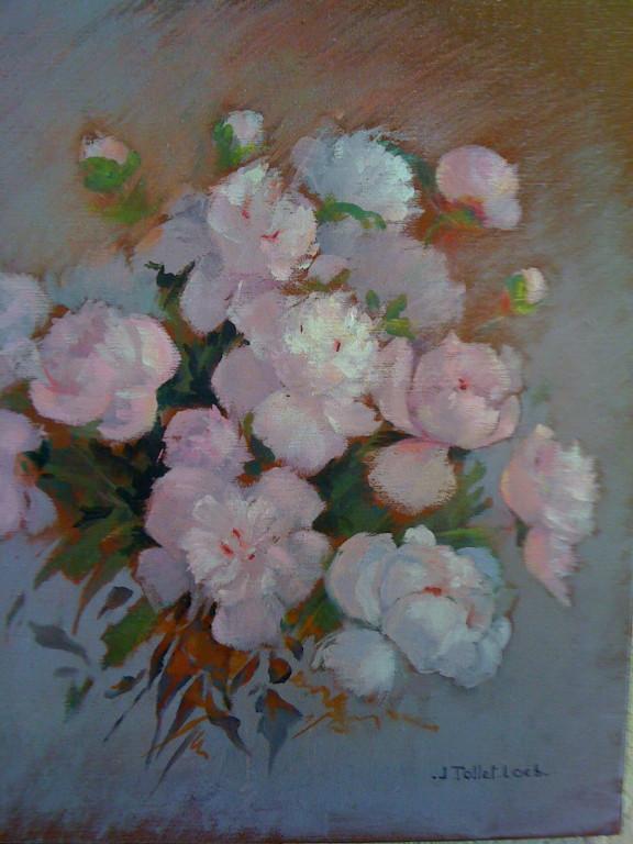 Pivoines roses 10 F