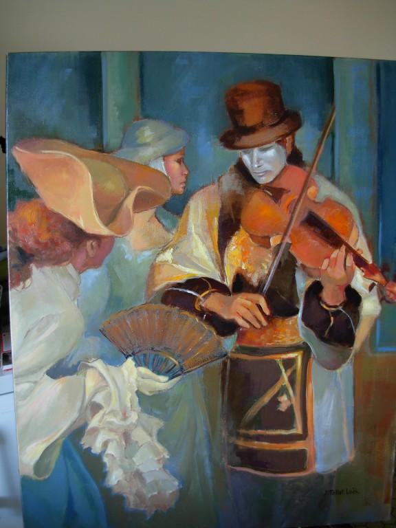 Le violoniste 40 F