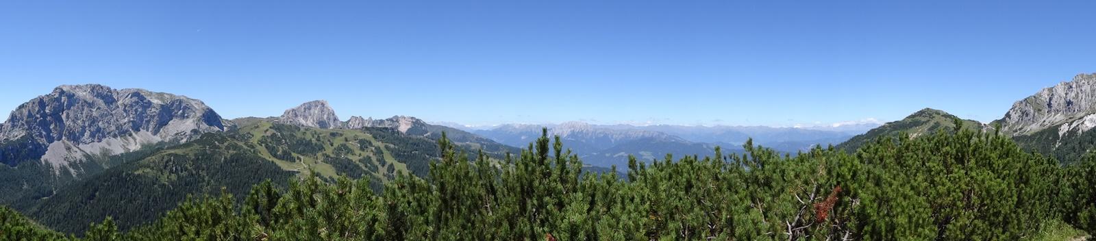 Panoramablick Auernig