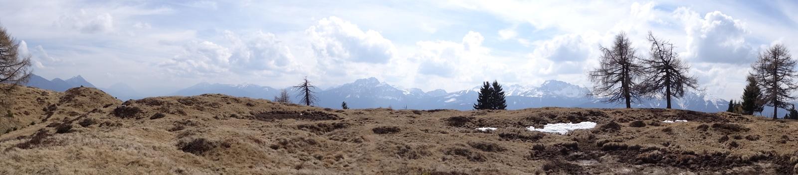 Panoramabild Hochenwarter Höhe