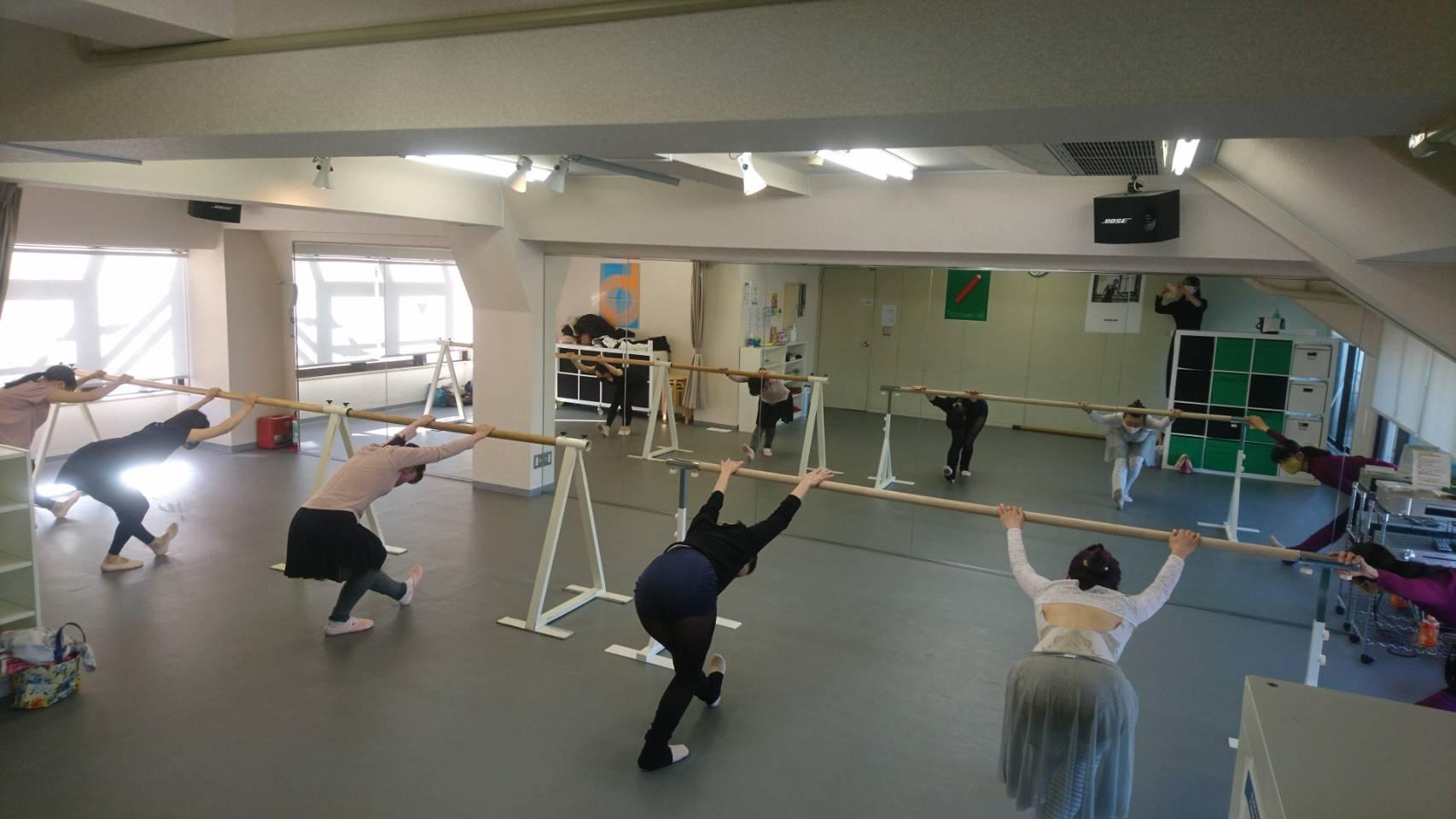 中山バレエ教室「入門クラス」開講いたしました❣