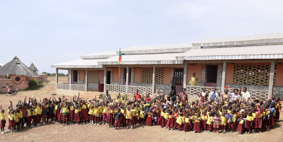 Schule in Kamerun