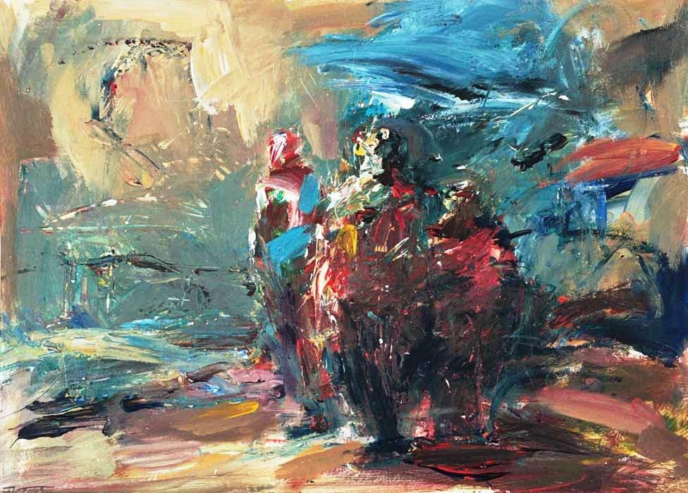 Am See (2004) Acryl 50x70 cm 1.000,- EUR