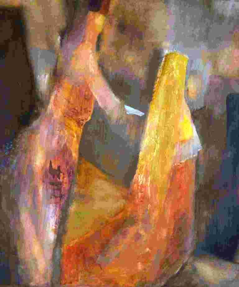 Weisung (2010) Gouache 47x39 cm 700,- EUR