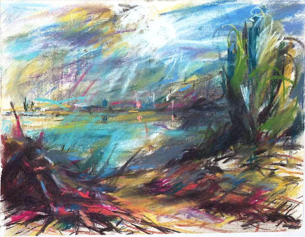 Am See (2002) Pastell 50x60 cm 660,- EUR
