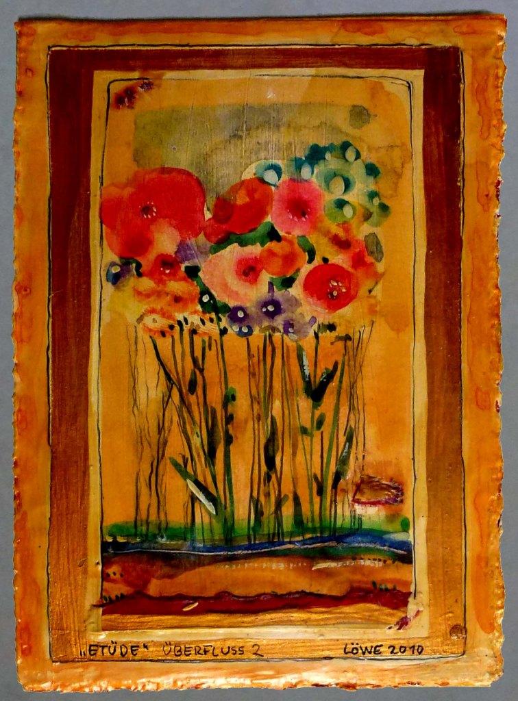 Etüde (2010) Mischtechnik 10,5x15 cm 150,- EUR