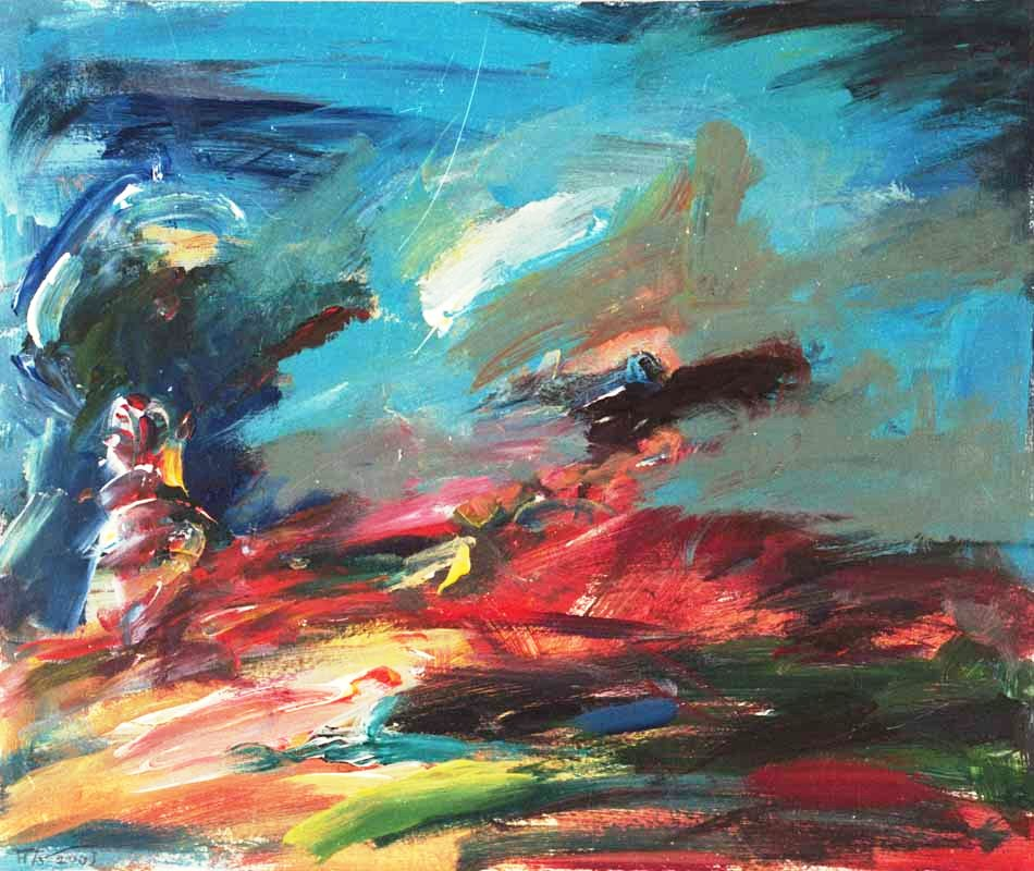 Sommer (2003) Acryl 50x60 cm 930,- EUR