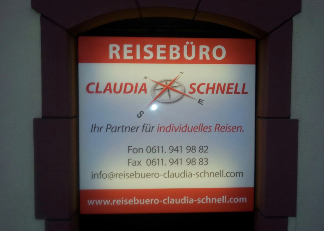 Reisebüro Claudia Schnell, Wiesbaden