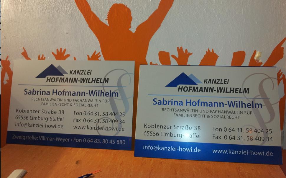 Kanzlei Hofmann-Wilhelm, Limburg