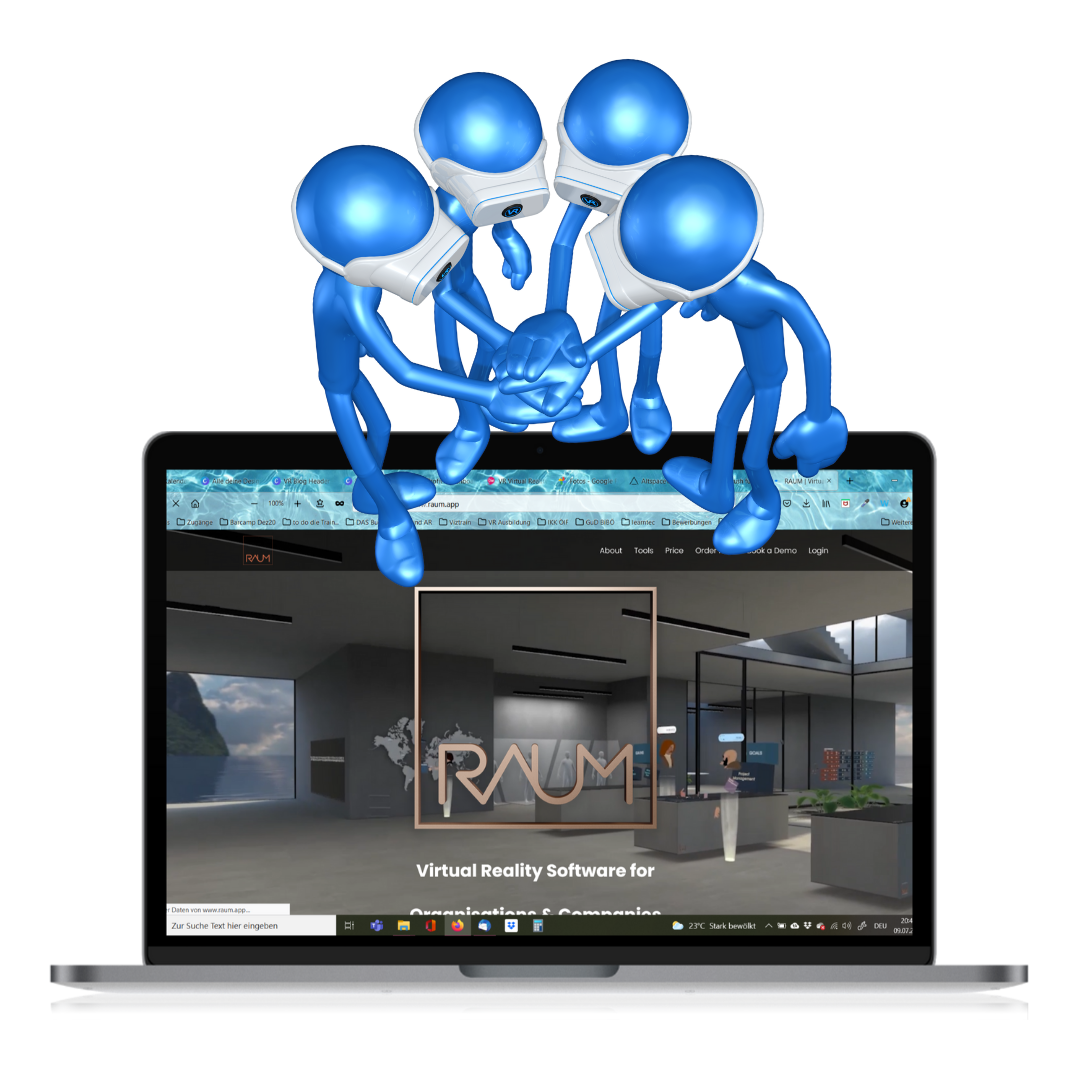 Coolness Faktor VR für Training, Meeting und Coaching - RAUM Vertiefung