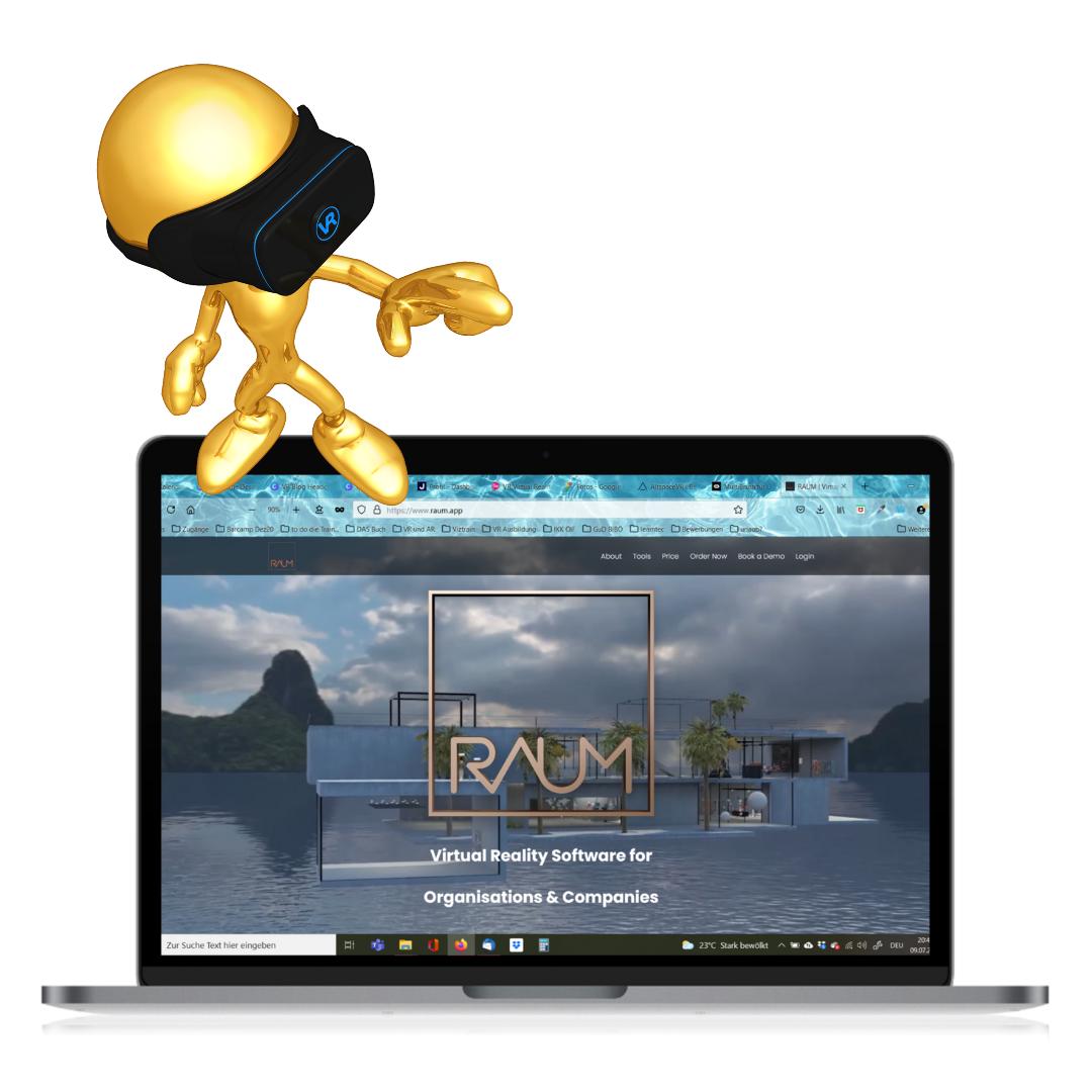Virtuelle High-End-Seminare: RAUM im Test