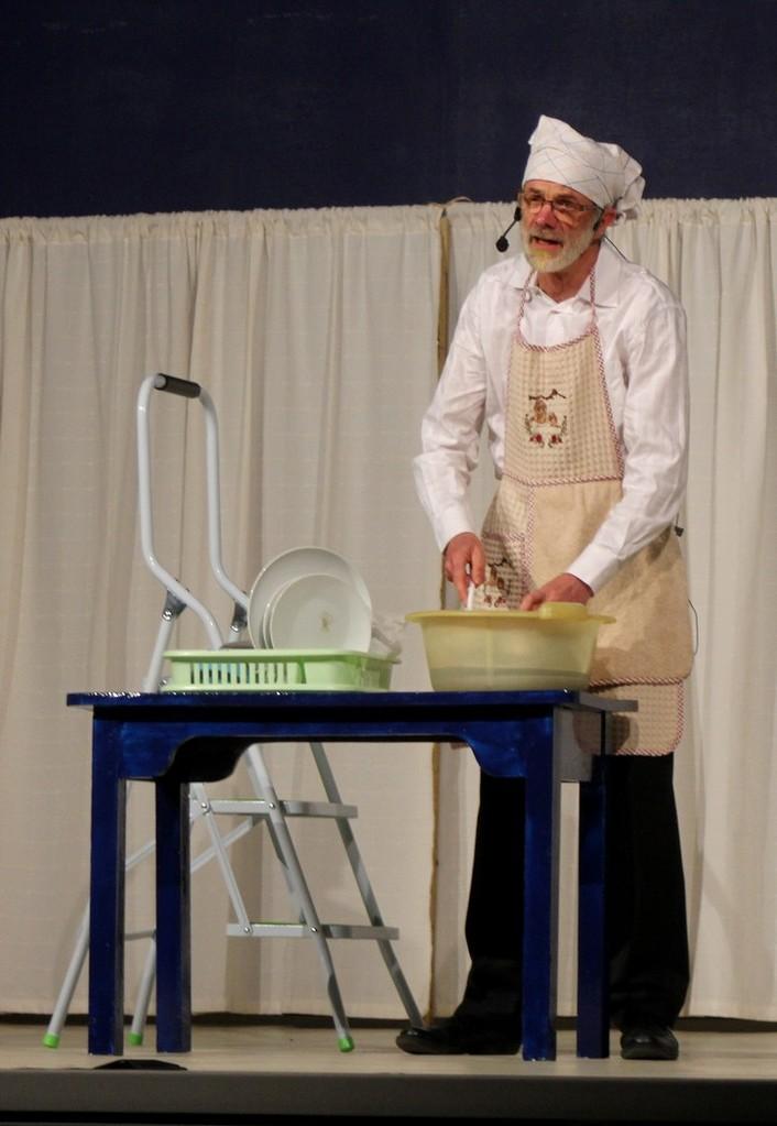 Moi je fais la vaisselle !