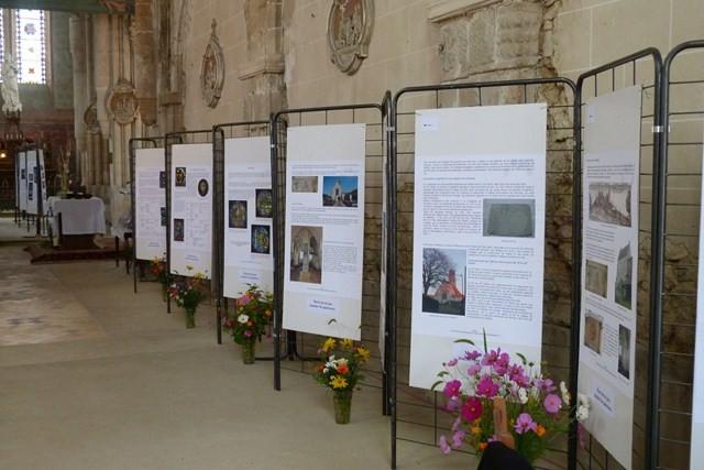 Exposition sur le vitrail à l'église de Breuil-le-Vert