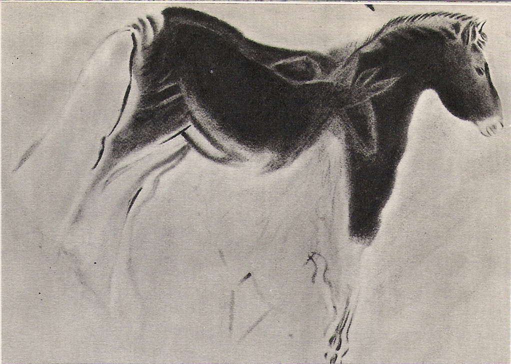 Cheval de la grotte ornée d'Altamira (Espagne)