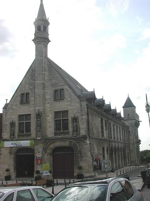 L'Hôtel de Ville de Clermont. Vue actuelle