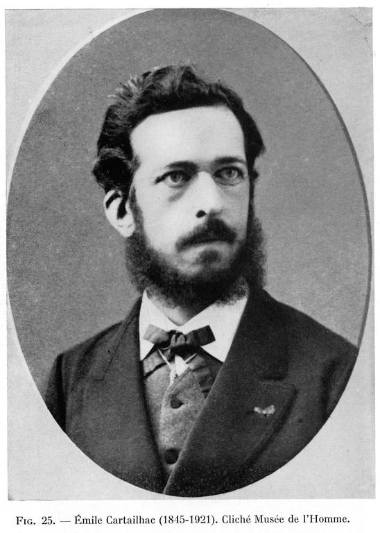Emile Cartailhac (1845-1921), préhistorien français