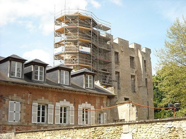 Les travaux du Donjon (2009-2010)