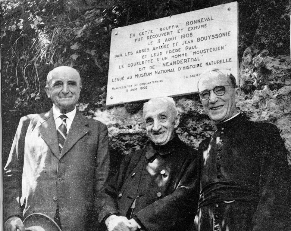 L'abbé Jean Bouyssonie et ses deux frères