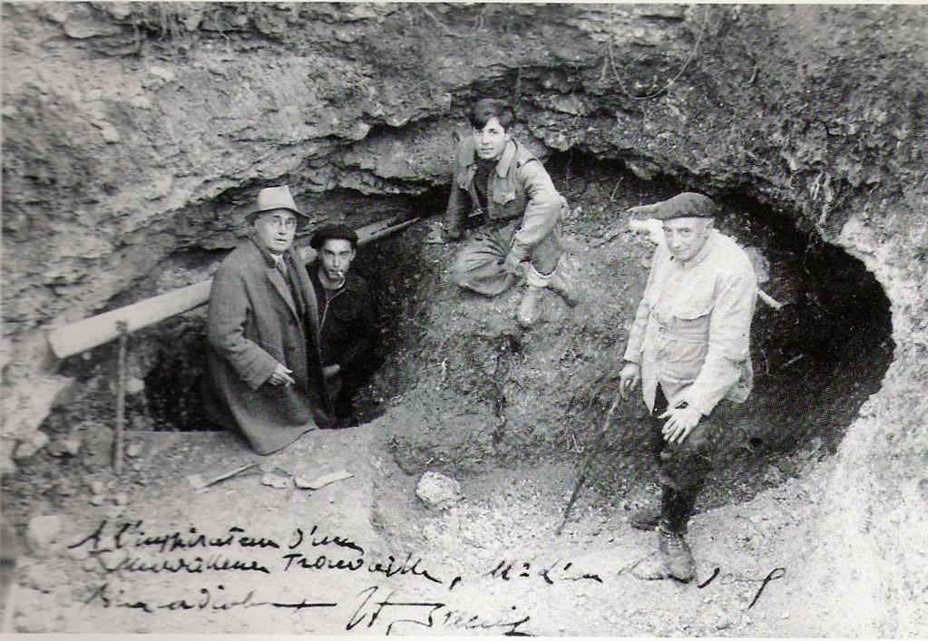 L'abbé Breuil et la découverte de la grotte de Lascaux par les enfants
