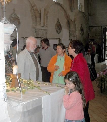 Dans l'église de Breuil le vert