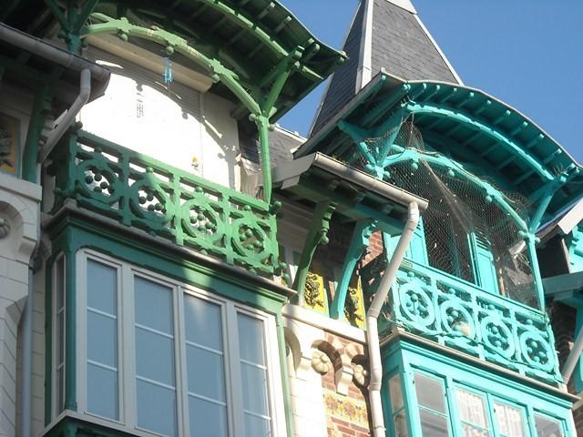 Balcon et Bow-Windows