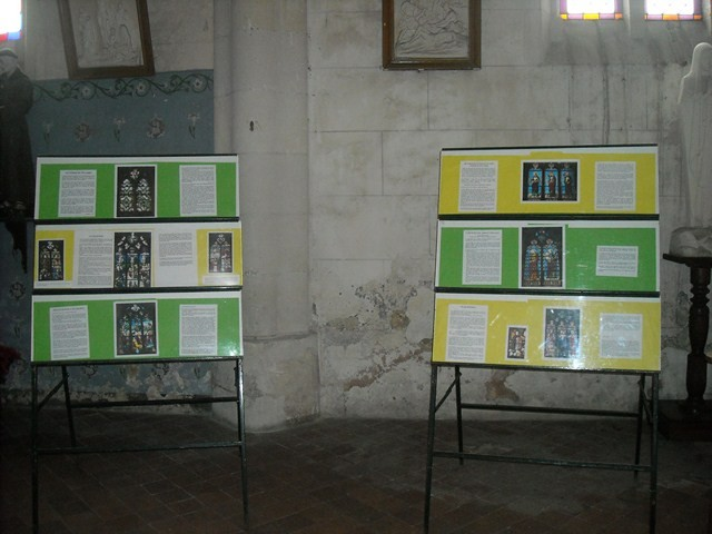 Exposition sur l'histoire de l'église de Fitz-James