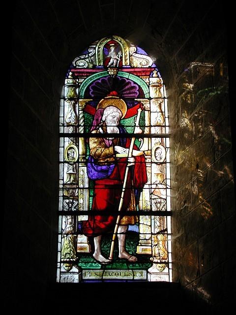 Vitrail de Saint-Jacques (16e siècle)