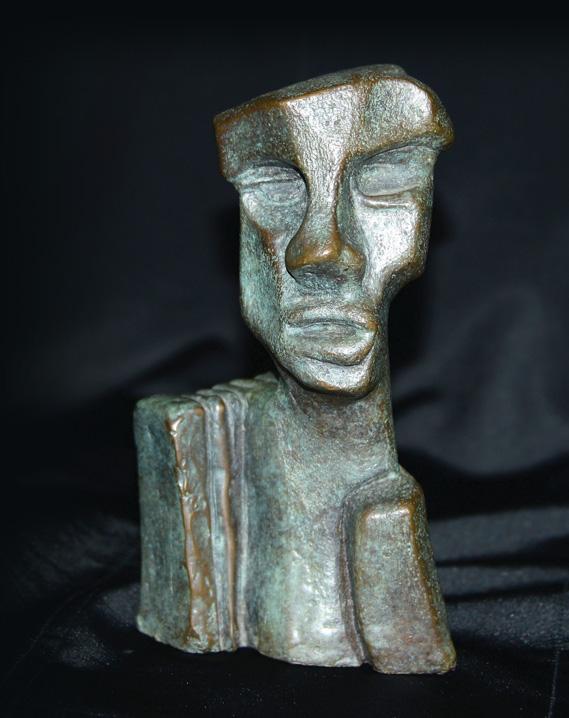 HUMANITAS,  Bronze - 3 X 3,5 po.