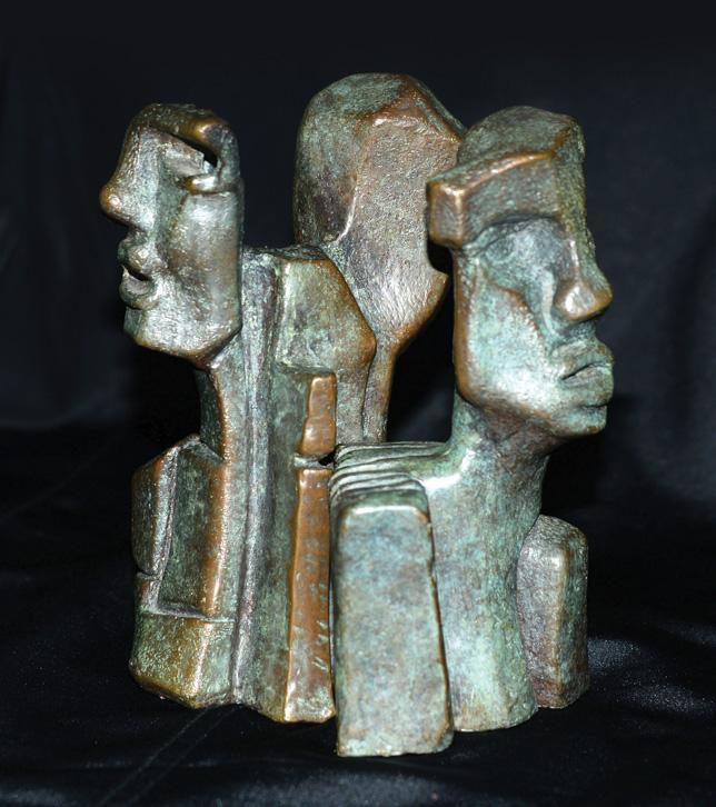 LES SENTINELLES,  Bronze - 4,5 X 6,5 po.  8 de 8  I de IV
