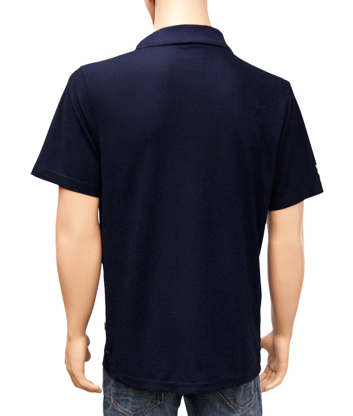 Polo-Shirt Gentle Navy | Back