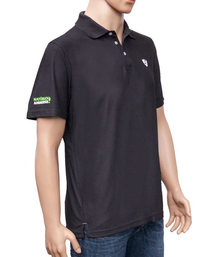 Polo-Shirt Gentle Antrazit | Side