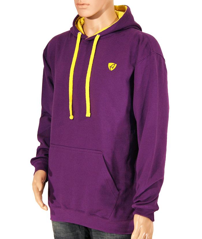 Hoodie Gentle Purple | Front
