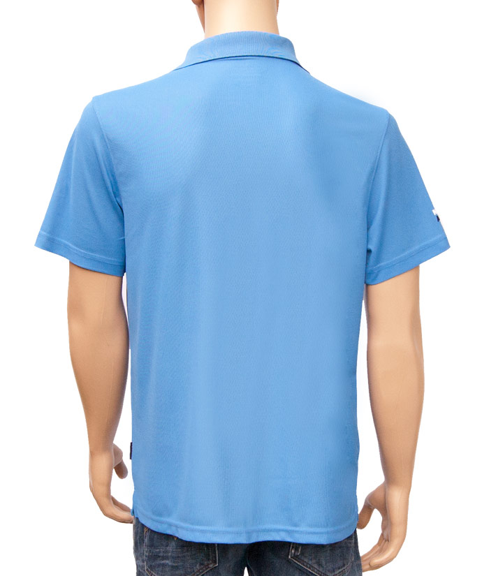 Polo-Shirt Gentle Blue | Back