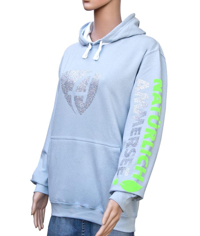 Hoodie Brand Glitter | Side