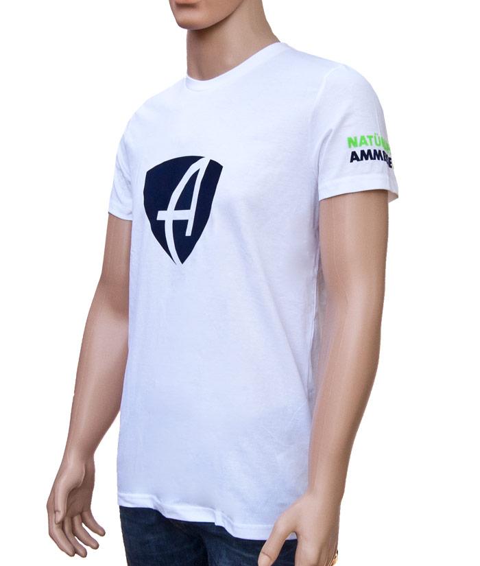 T-Shirt Brand White | Side